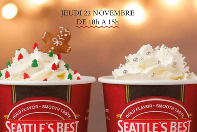 DEGUSTATION GRATUITE... Seattle's Best Coffee a Blagnac